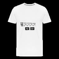 Tee shirts ~ T-shirt Premium Homme ~ Grid Pattern (Man)