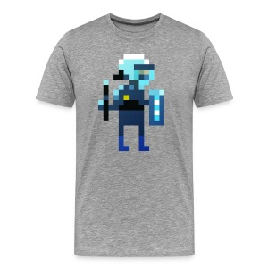 1700 T-Shirt stehender Polizist - Männer Premium T-Shirt