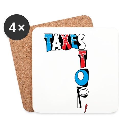 PACK 4 DESSOUS VERRES STOP TAXES - Dessous de verre (lot de 4)