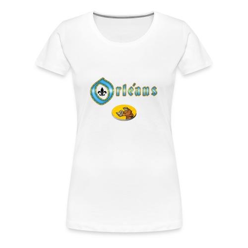 Orleans Mönch - Frauen Premium T-Shirt