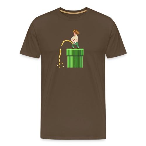 1700 urinierender Punk - Männer Premium T-Shirt