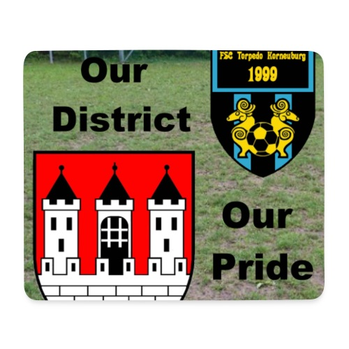 Our District Our Pride MousePad - Mousepad (Querformat)