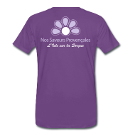 Tee shirts ~ T-shirt Premium Homme ~ Saveurs T