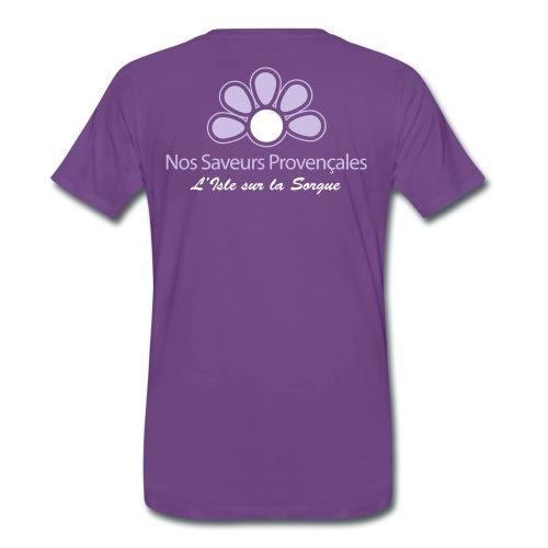 Saveurs T - T-shirt Premium Homme