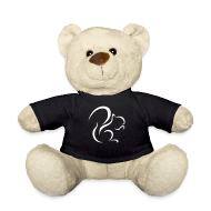 Teddy Bear Toys ~ Teddy Bear ~ Teddy Bear With Logo T-shirt (black)