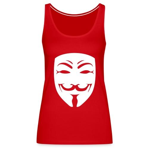 débardeur anonymous - Débardeur Premium Femme