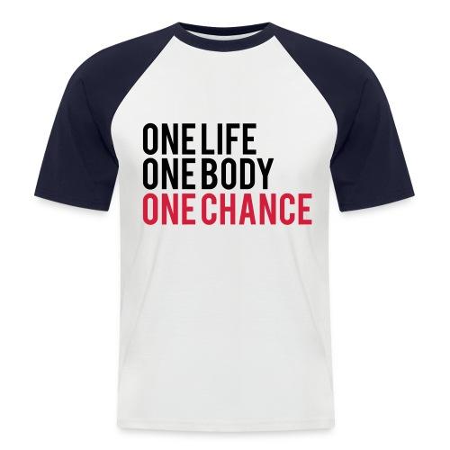 tshirt baseball. - T-shirt baseball manches courtes Homme