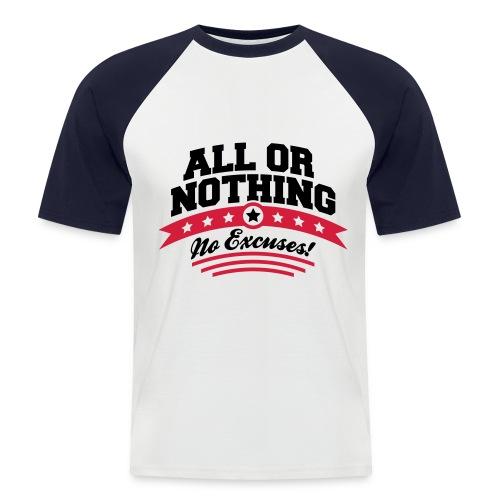 Tshirt baseball - T-shirt baseball manches courtes Homme