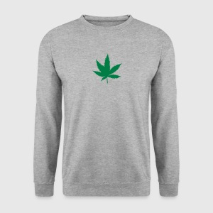 feuille de cannabis drogue 14 Sweat-shirts - Sweat-shirt Homme