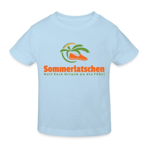Das Kinder Espadrilles T-Shirt  - Kinder Bio-T-Shirt