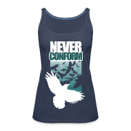 Tops ~ Women's Premium Tank Top ~ Never Conform (Women's TankTop)