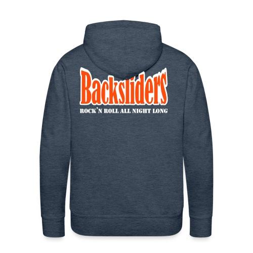 Backsliders-huppari - Miesten premium-huppari