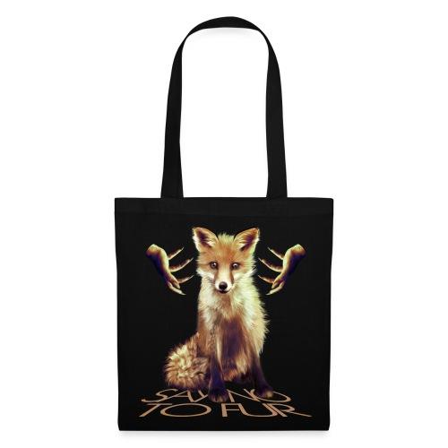 Say no to Fur IV - Tote Bag