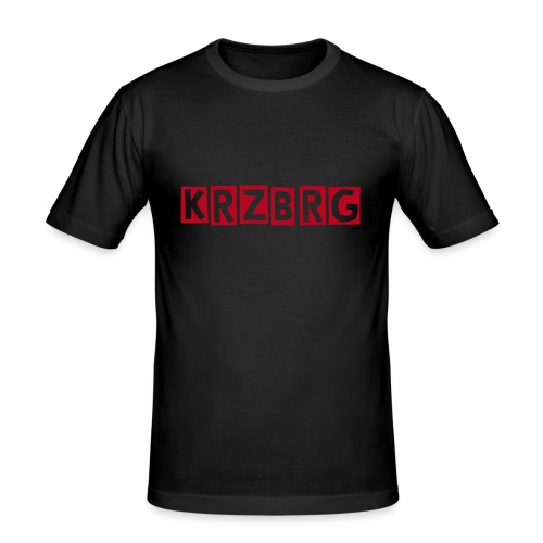 KRZBRG t-shirt - Herre Slim Fit T-Shirt