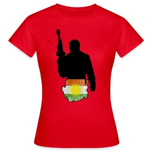 Kurdish Soldier  - Frauen T-Shirt
