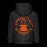 Pullover & Hoodies ~ Kinder Premium Kapuzenjacke ~ Schmiede-Pull 4 harte kids ORANGE mit Reißverschluss