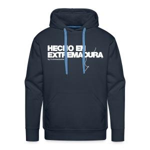 Susadera Hecho en Extremadura - Sudadera con capucha premium para hombre