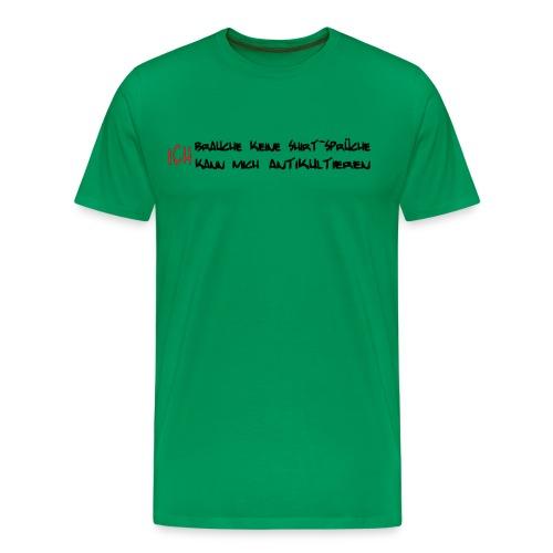 noShirtSpot - Männer Premium T-Shirt