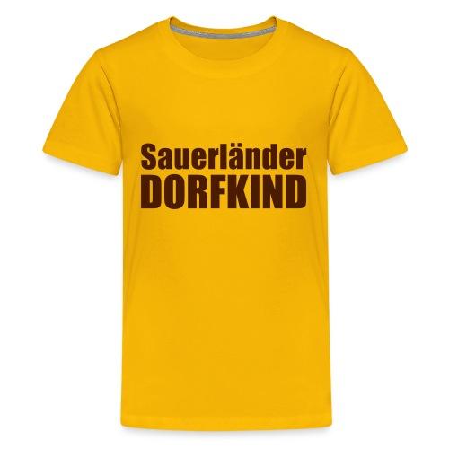 Dorfkind - Teenager Premium T-Shirt