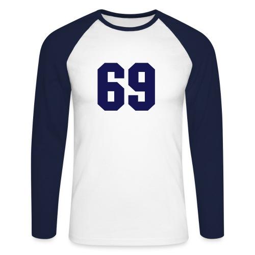69_long - T-shirt baseball manches longues Homme