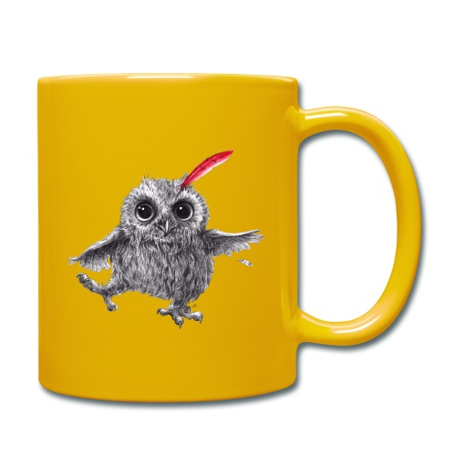 Chief Red - Happy Owl - Tasse einfarbig