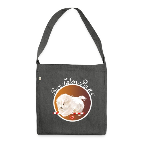 Pure Coton Power - Schultertasche aus Recycling-Material