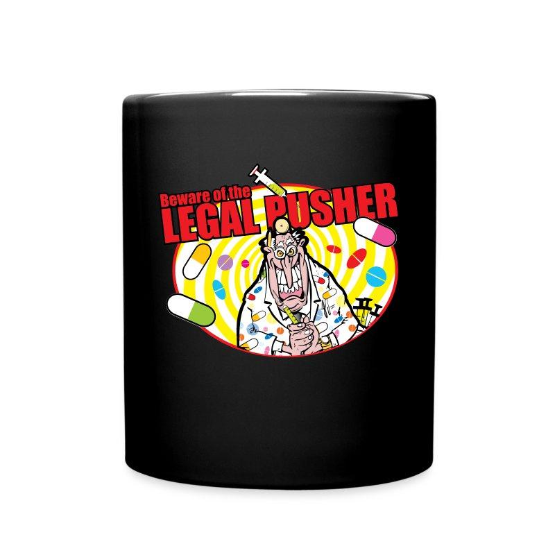 legalpusher-oval - Full Colour Mug