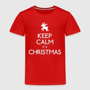 keep calm christmas Shirts - Kids' Premium T-Shirt