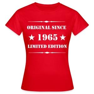 Girls Shirt mit Aufdruck, 1965 Limited Edition - Frauen T-Shirt