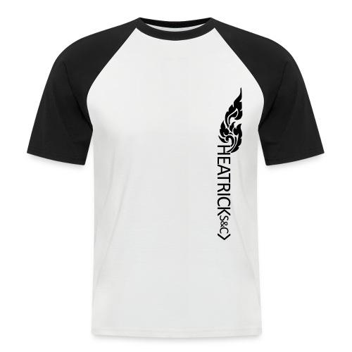 Baseball Style T-shirt Black Logo - Men's Baseball T-Shirt