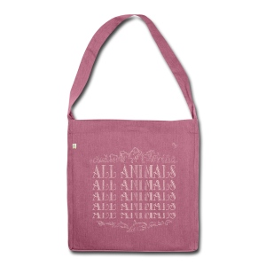 All Animals   - Sac bandoulière 100 % recyclé