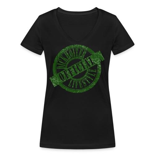 Dickhoiter-Lifestyle (Official) - Girlie - Frauen Bio-T-Shirt mit V-Ausschnitt von Stanley & Stella