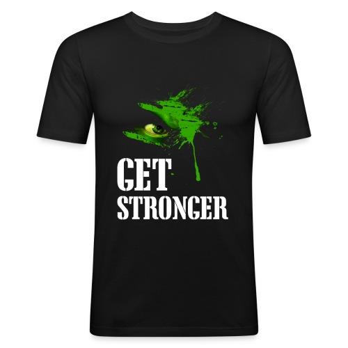 Get stronger - T-shirt près du corps Homme