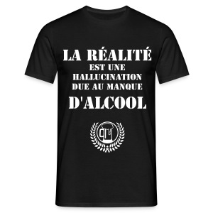 T-shirt homme alcool - T-shirt Homme