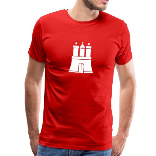Hamburger Wappen S-5XL T-Shirt - Männer Premium T-Shirt