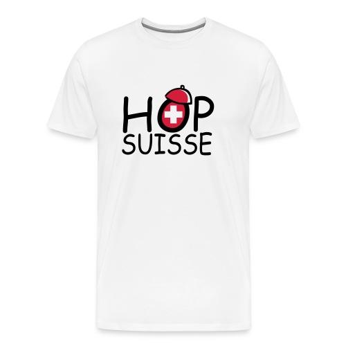 Hop Suisse - T-shirt Premium Homme