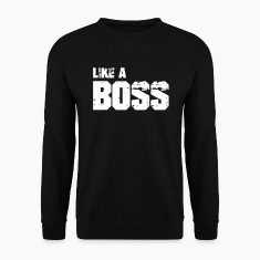 Like A Boss Hoodies & Sweatshirts