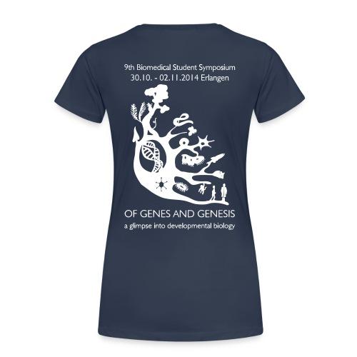 Symposium 2014 in Erlangen - Frauen Premium T-Shirt