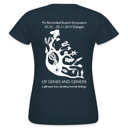 Symposium 2014 in Erlangen - Frauen T-Shirt