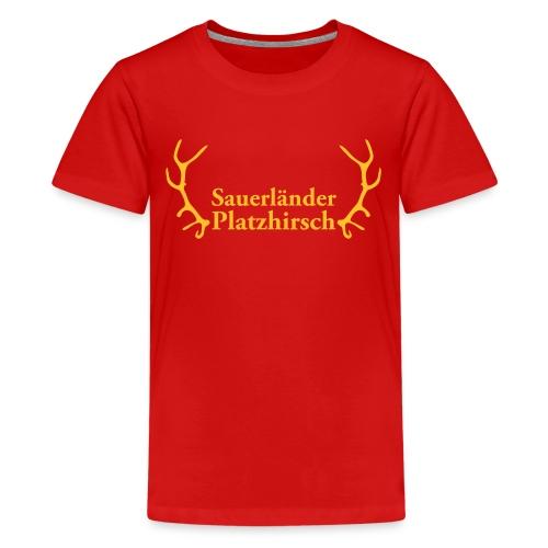 Platzhirsch - Teenager Premium T-Shirt