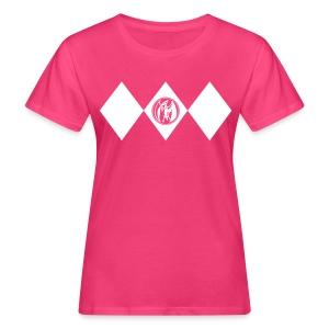 Pink Ranger - Frauen - Frauen Bio-T-Shirt