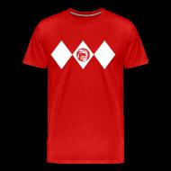 T-Shirts ~ Männer Premium T-Shirt ~ Red Ranger - Männer