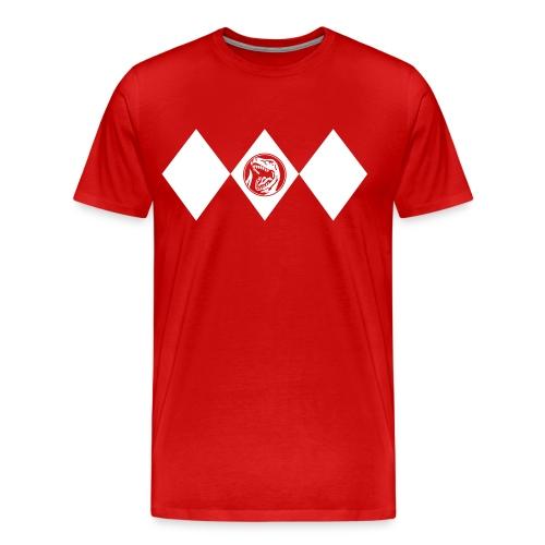 Red Ranger - Männer - Männer Premium T-Shirt