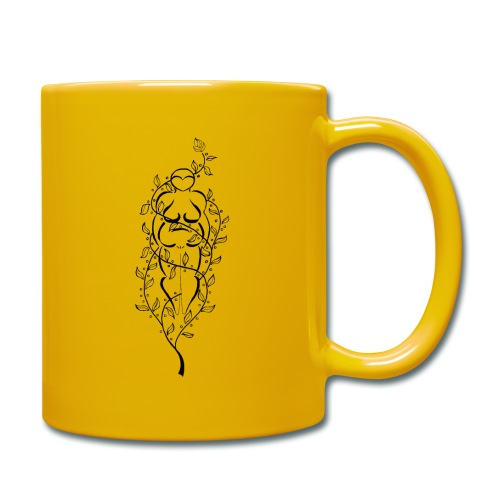 Sonnengelbe Tasse Göttin - Tasse einfarbig