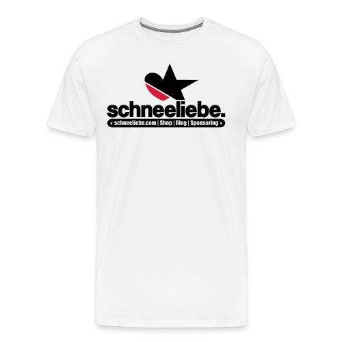 Männer Premium T-Shirt - ★ schneeliebe. TShirt ★