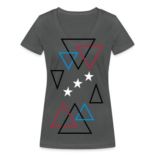 Pile - Økologisk Stanley & Stella T-shirt med V-udskæring til damer
