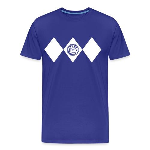 Blue Ranger - Männer - Männer Premium T-Shirt