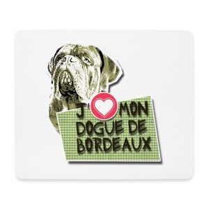 Mousepad // Bordeauxdogge - Mousepad (Querformat)