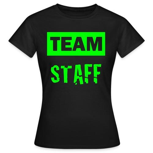 T-Shirt Team Full Ride Team STAFF Vert - T-shirt Femme