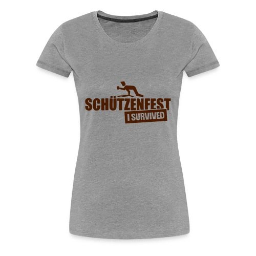 Schützenheld - Frauen Premium T-Shirt